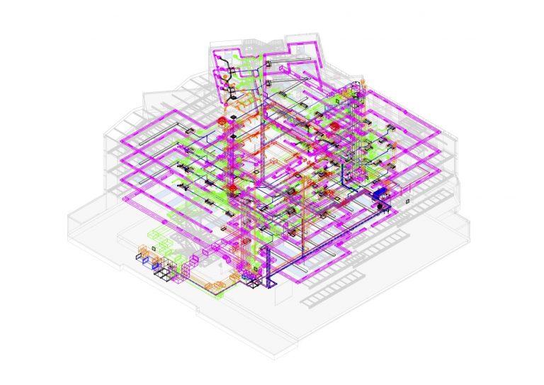 maquette MEP numérique